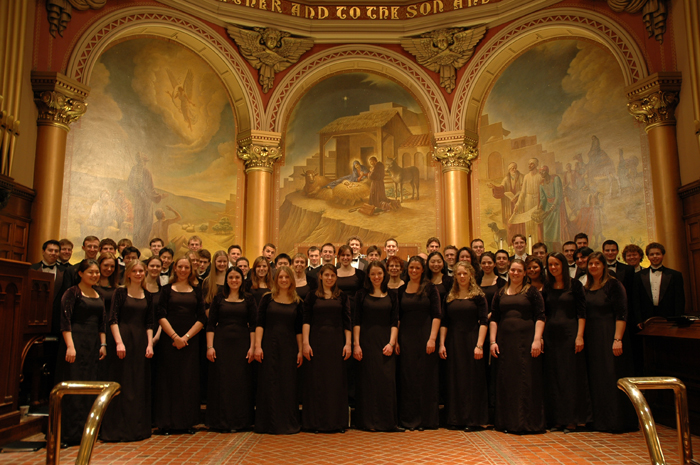 Lehigh University Music Department - choral arts choir